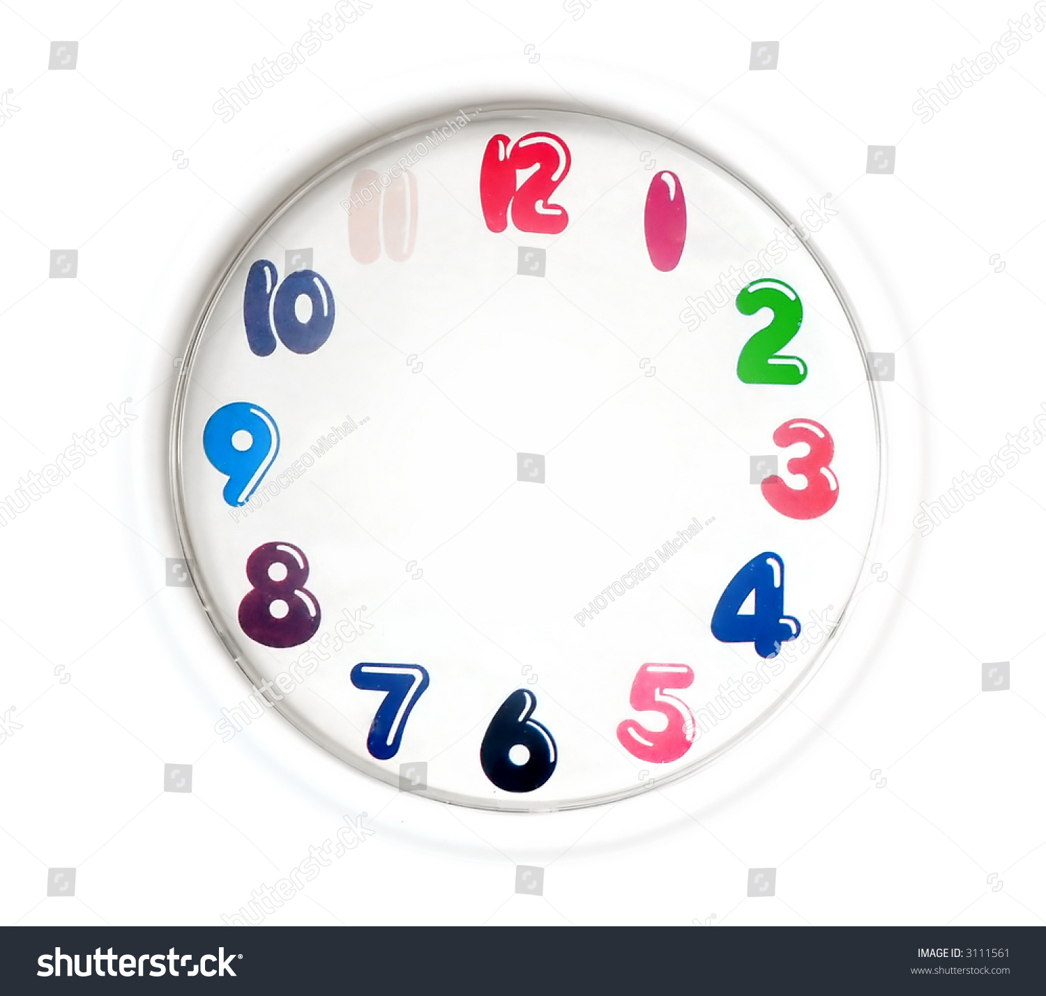 Simpleogue Clock Easy Editable Without Stock Photo