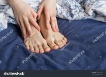 Sleeping Teen Feet