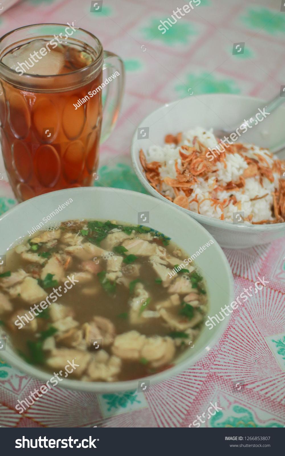 Sop Ayam Klaten : klaten, Indonesian, Traditional, Stock, Photo, (Edit, 1266853807