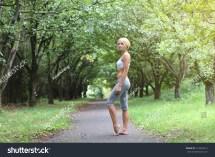 Woman Barefoot Yoga