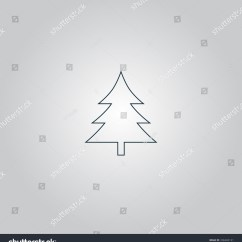 Christmas Origami Diagram Wiring Motion Sensor Light Switch Trends Of Tree Images Diagrams Royalty Free Stock Illustration Spruce Flat Web Steps