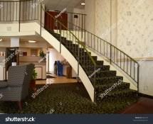 Staircase In Elegant Hotel Lobby Stock 565179
