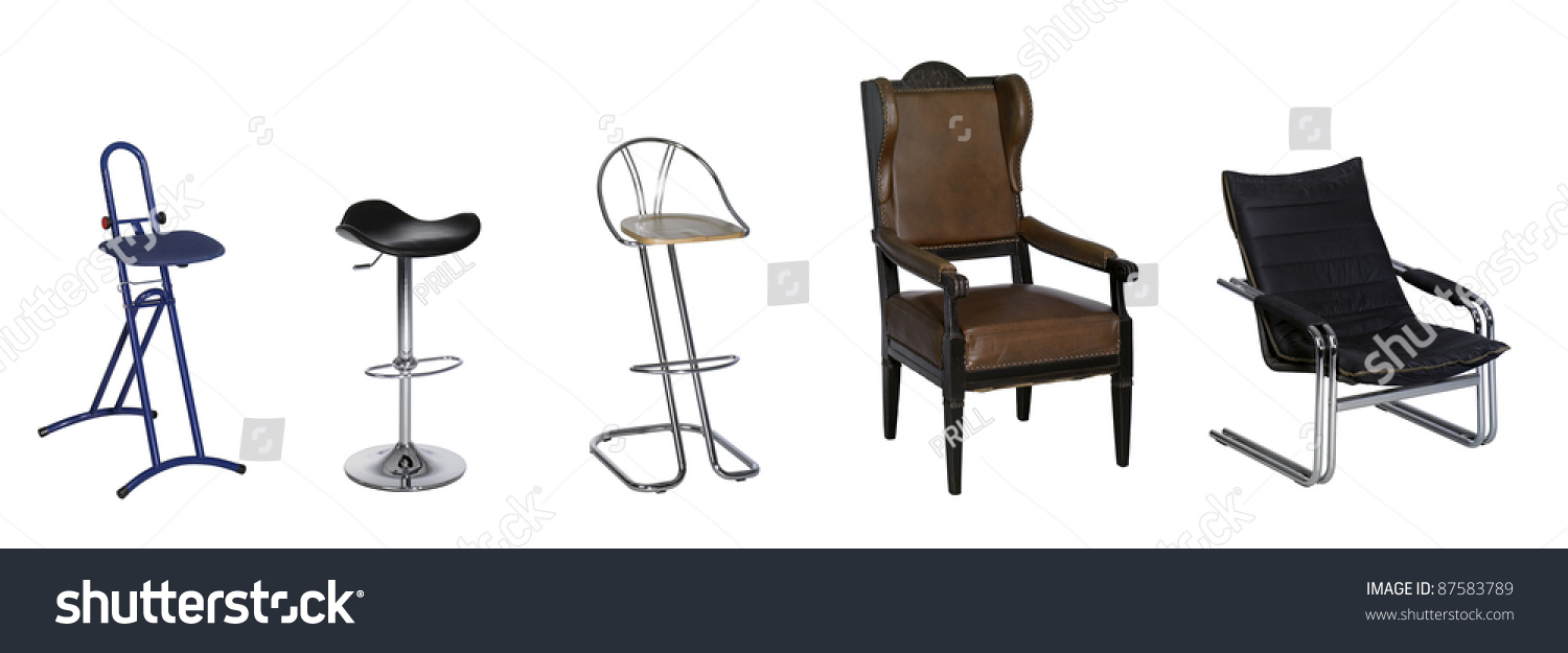 Studio Chairs Studio Photography Various Chairs Seats Row Stock Photo Edit Now