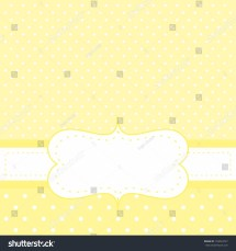 cba07efaf93 Bright Sunny Yellow Background With White Polka Dots - Year of Clean ...