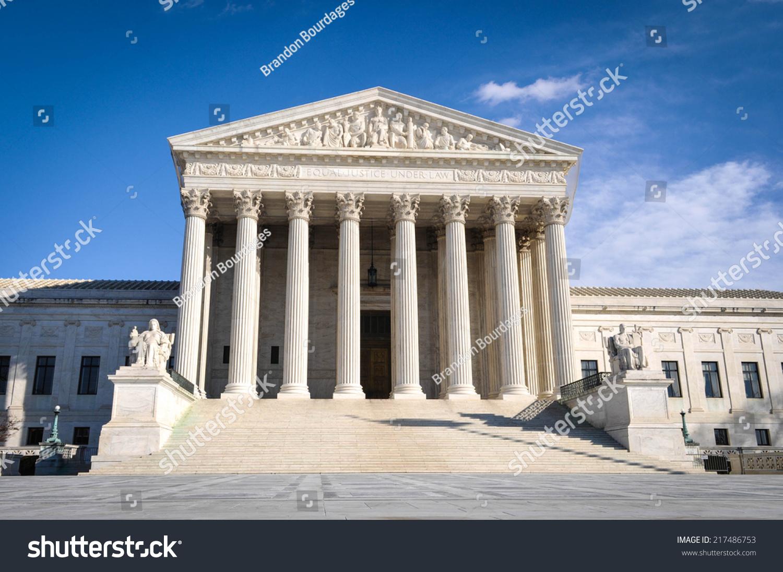 Supreme Court Building Stock Photo 217486753 : Shutterstock