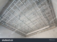 Suspended Ceiling Structure Stock Photo 285857471 ...