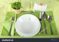 Table Setting Breakfast Stock Photo 127385723 - Shutterstock