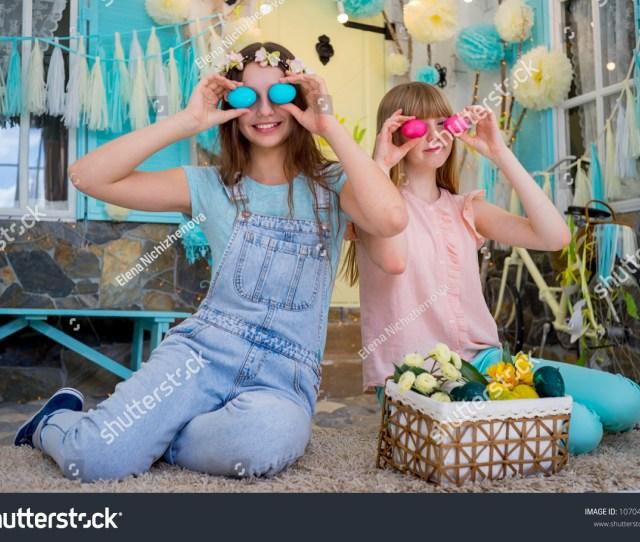Teens Spending Time On Easter