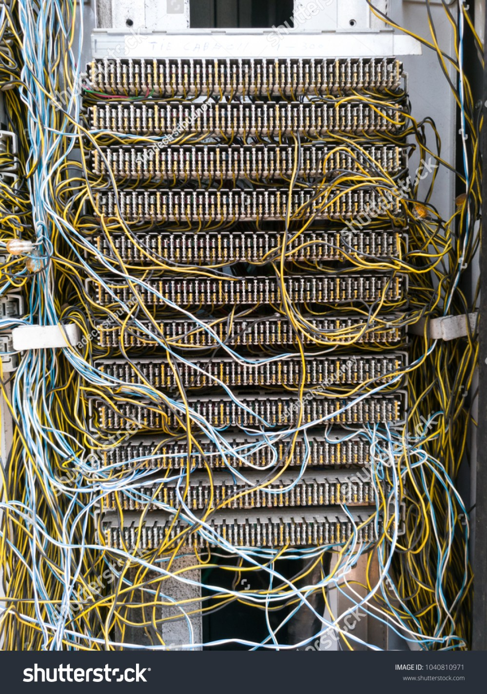 medium resolution of telephone connection panel jumper wire mini stock photo edit now telephone cable wiring configuration jumper