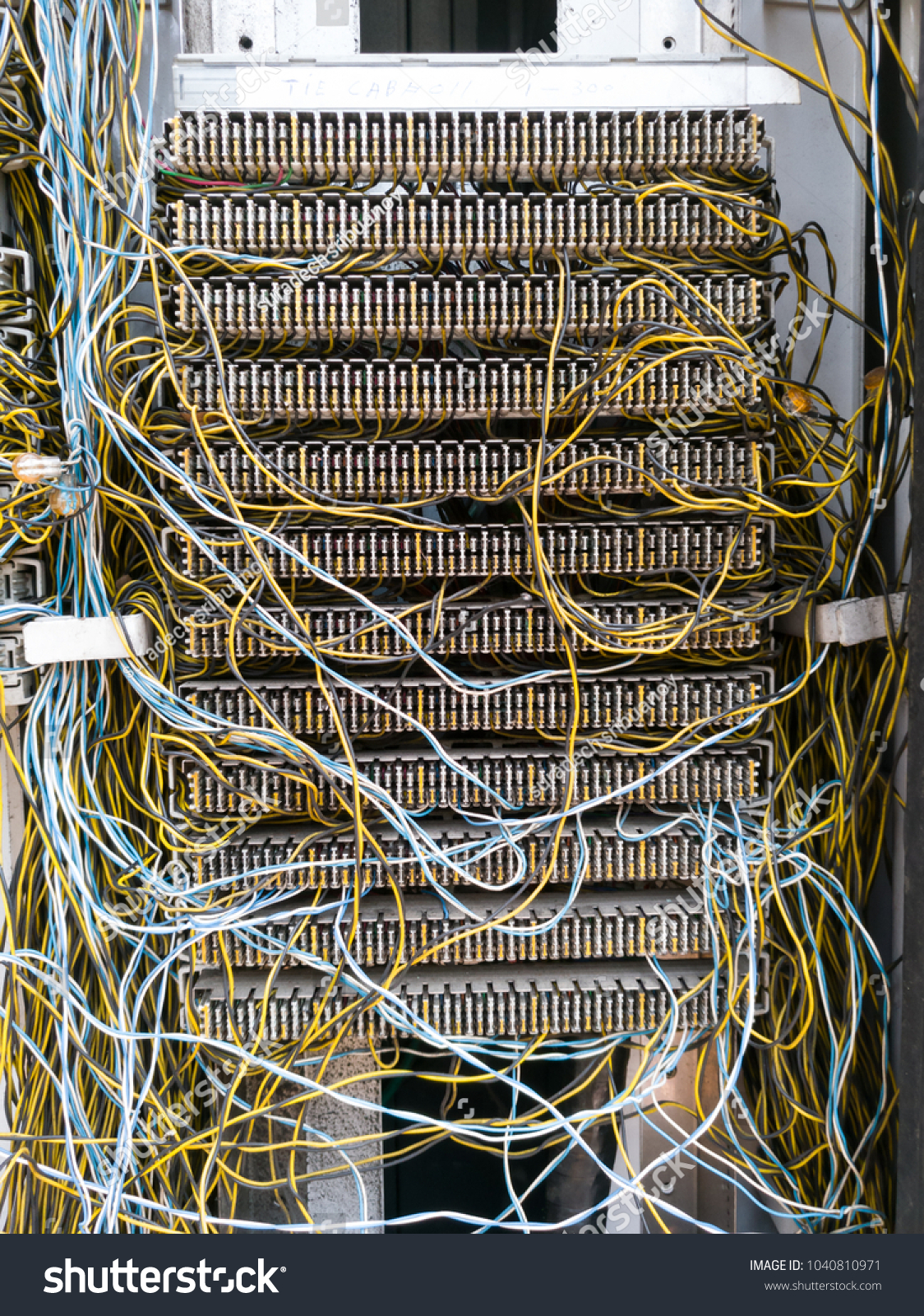 hight resolution of telephone connection panel jumper wire mini stock photo edit now telephone cable wiring configuration jumper