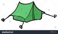 Tent Cartoon Stock Photo 94469701 : Shutterstock