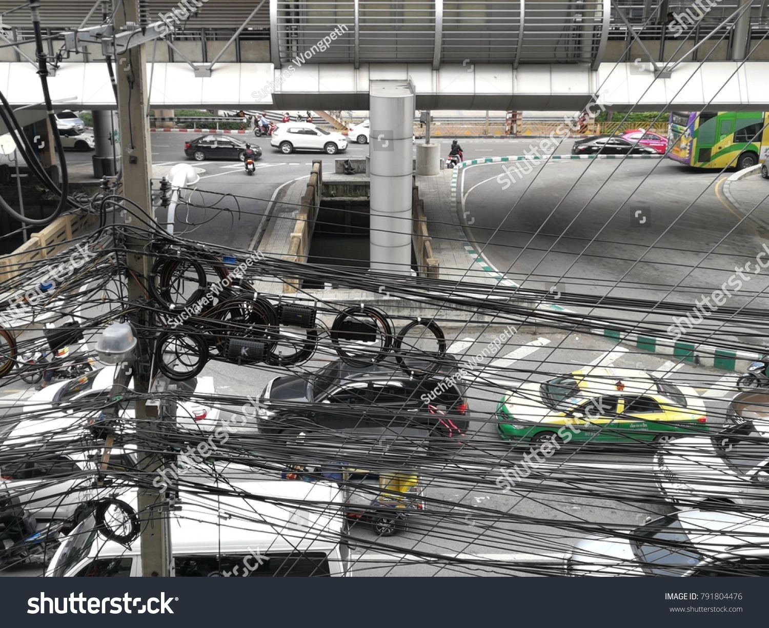 hight resolution of thailand january 11 a photo of crazy wires are everywhere in bangkok on the
