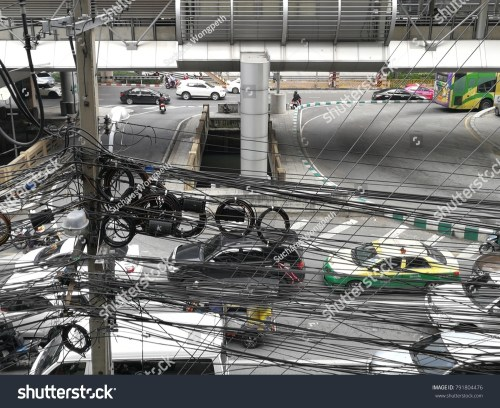 small resolution of thailand january 11 a photo of crazy wires are everywhere in bangkok on the