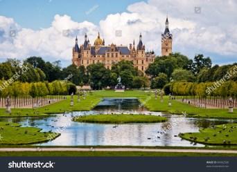 Beautiful Fairytale Castle Schwerin Stock Photo Edit Now 84962560