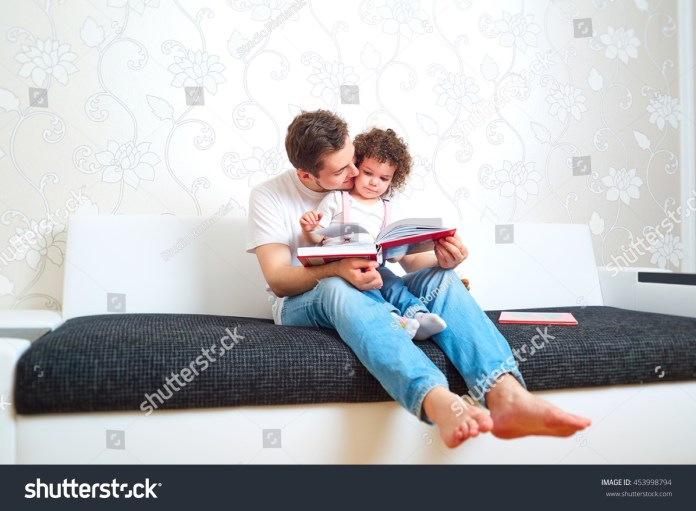 concept family care childrens education dad stock photo (edit now