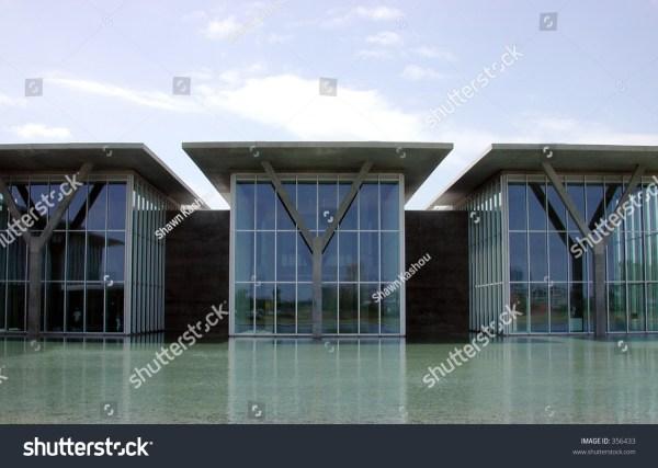 Modern Art Museum Fort Worth Stock 356433