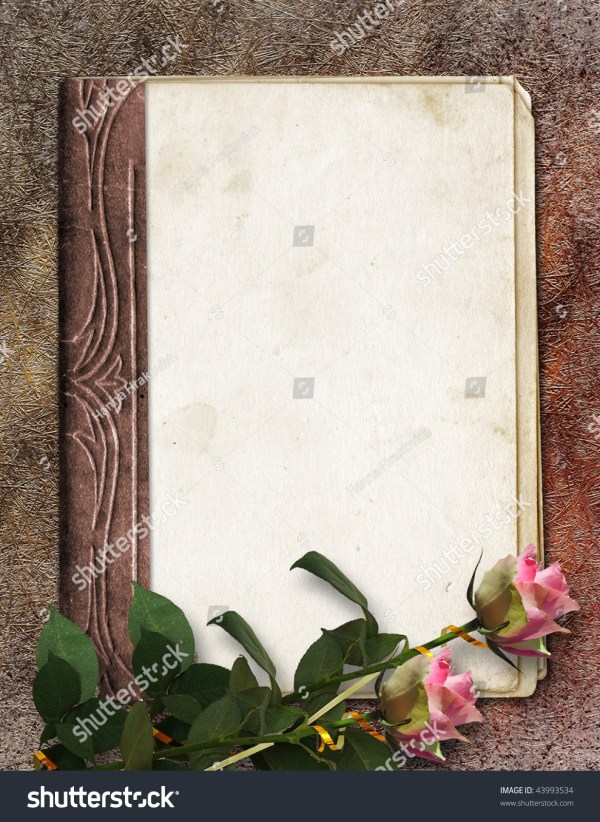 Book Abstract Vintage Background Stock Illustration
