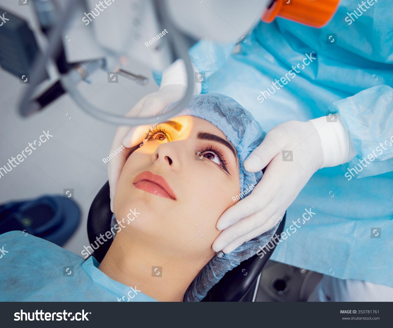 Operation On Eye Cataract Surgery Stock Photo 350781761 - Shutterstock