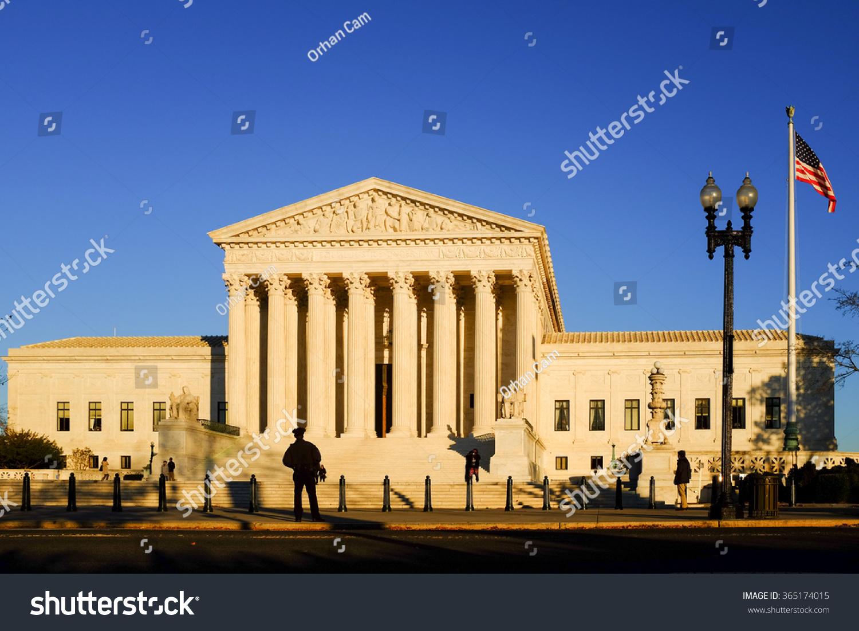 Supreme Court Washington Dc Usa Stock Photo 365174015 - Shutterstock