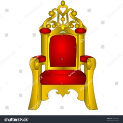 The Chair King Lawn Repair Kit Throne Red Soft Insulated Stock Illustration