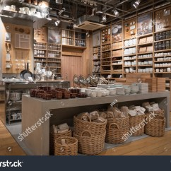Kitchen Goods Store Cost Of Remodelling A Tokyo Japan Circa March 2017 Stock Photo Edit Now Inside Muji