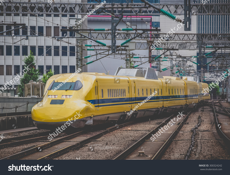Tokyo June 22 Doctor Yellow Highspeed Stock Photo