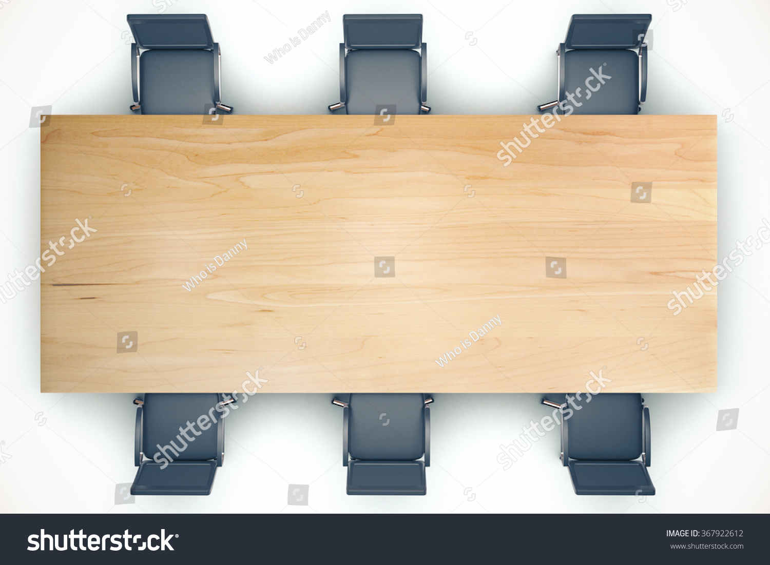 desk chair plan view accent for bedroom top on conference wooden table stock photo 367922612