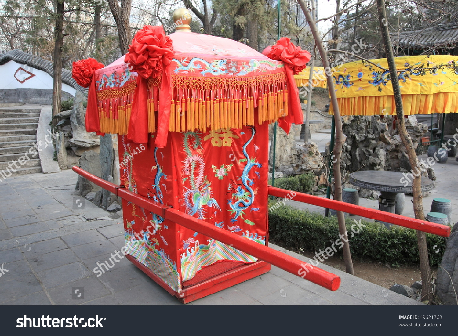 chinese wedding sedan chair porch swing traditional for carrying the