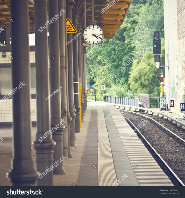 Train Station Photography Backdrops