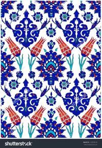 Turkish Tile Design Stock Illustration 116359918 ...