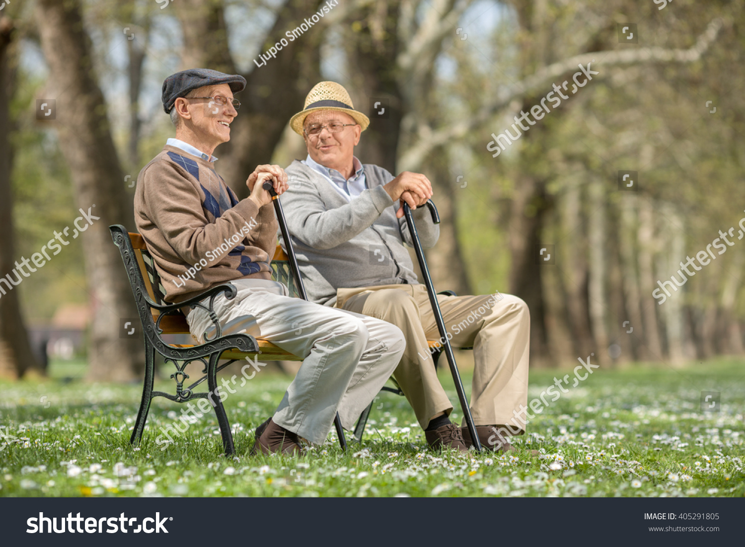 Image result for two old men in the park