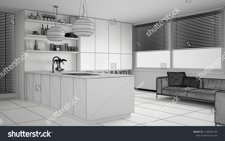 Modern Kitchen Sofa