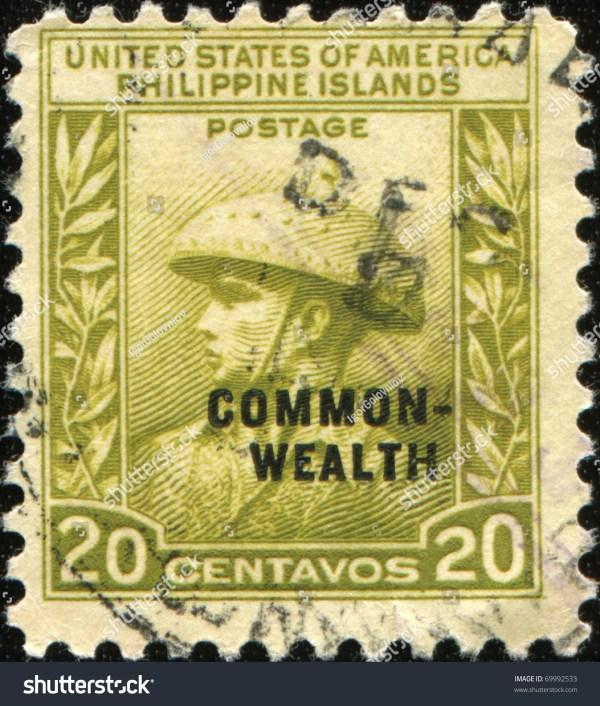 Philippine Island Stamp United States Of America