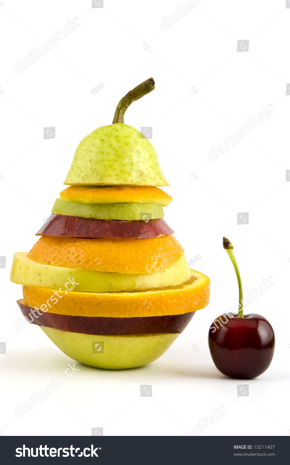 Very Special Fruit Salad Made With Some Slices Of