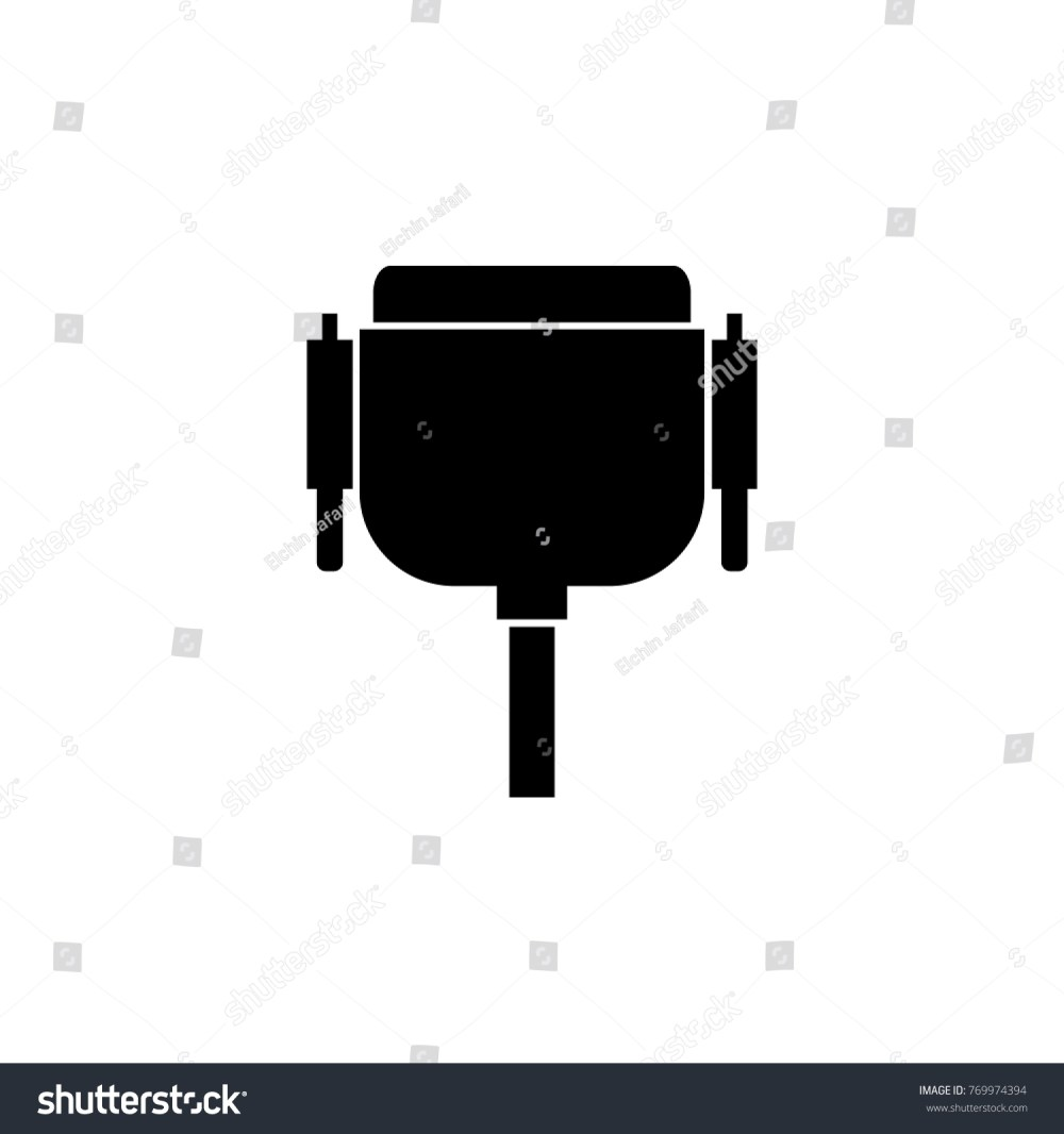 medium resolution of wiring diagram pc icon wiring diagram yer vga wire port cable icon pc stock illustration 769974394