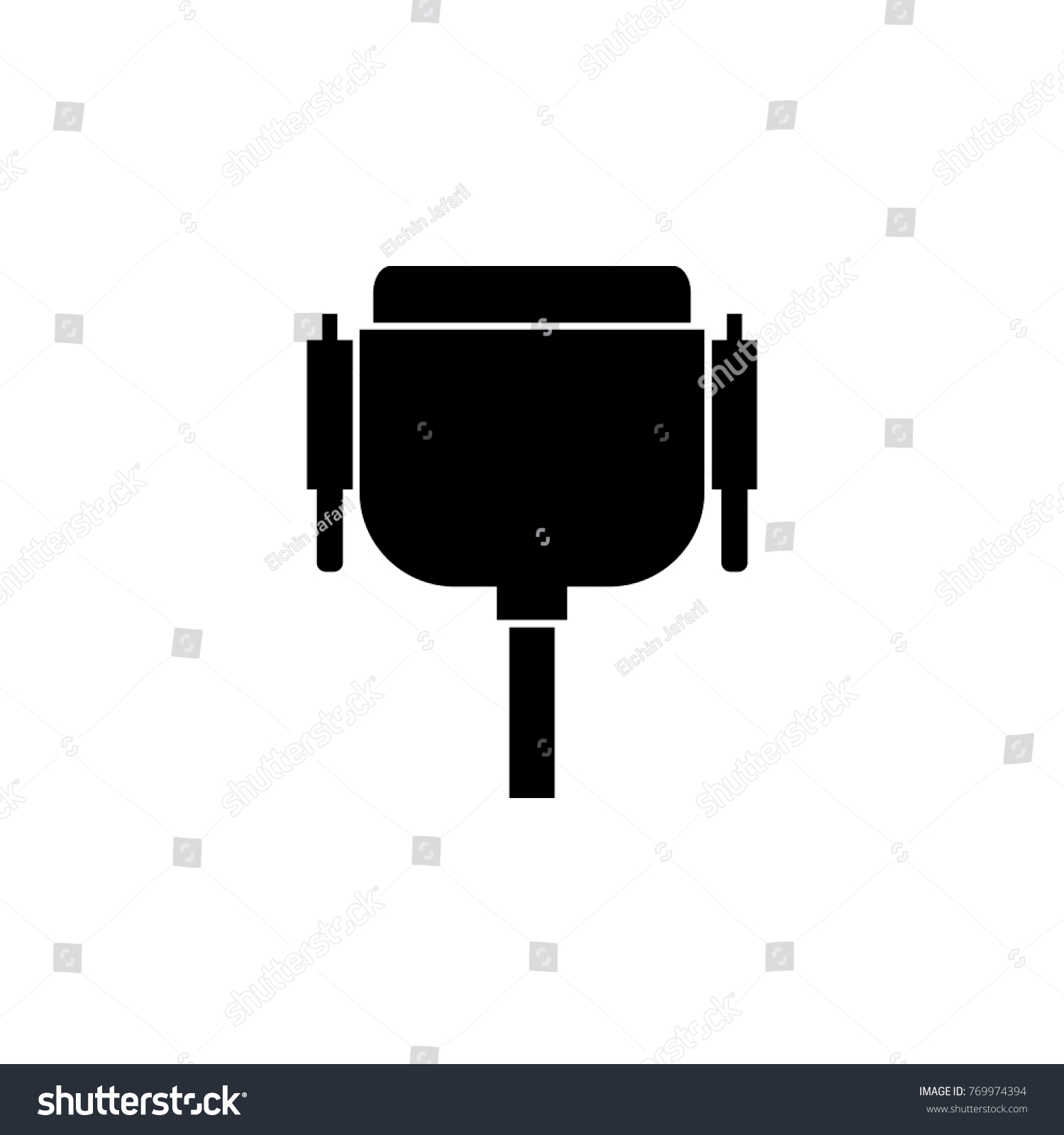 hight resolution of wiring diagram pc icon wiring diagram yer vga wire port cable icon pc stock illustration 769974394