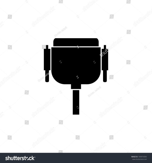 small resolution of wiring diagram pc icon wiring diagram yer vga wire port cable icon pc stock illustration 769974394