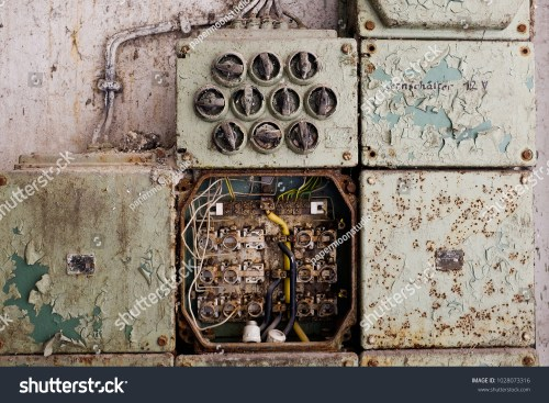 small resolution of vintage electric panel or fuse box