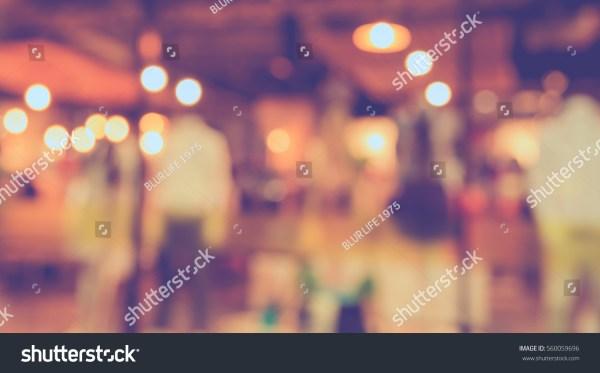 Vintage Tone Blur Boutique Display Stock