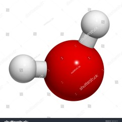 Water Molecule Diagram Ford F150 Wiring For Radio Chemical Structure Atoms Are Represented