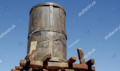 Wooden Water Tank Model | Wooden Thing