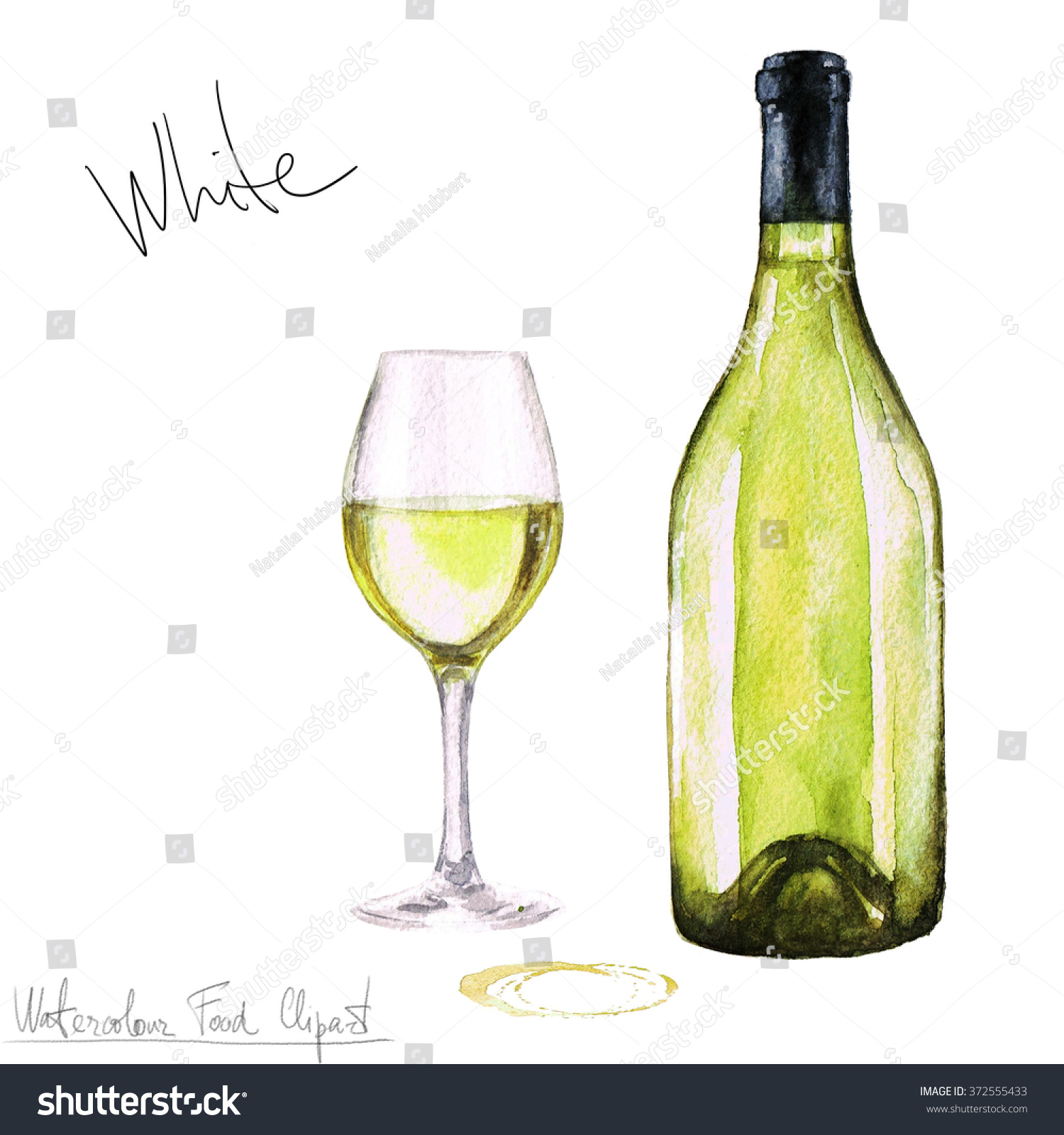 hight resolution of watercolor food clipart wine