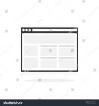Web Browser Window Icon Internet Browser Stock ...