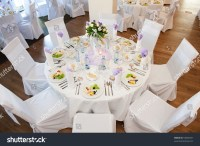 Wedding Table Setting Stock Photo 53048431 : Shutterstock