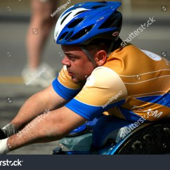 Wheelchair Marathon Denver Broncos Chair Stock Photo 3628977 Shutterstock