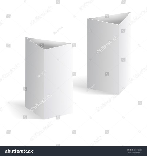 small resolution of white blank table tent vertical triangle cards isolated on white background template of blank