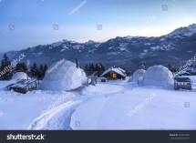 Whitepod Winter Igloos Stock 254274499 - Shutterstock