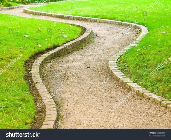 Winding Path Botanical Garden Stock 69206836 - Shutterstock