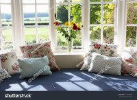Window Seat In Modern House Stock Photo 177006689 ...