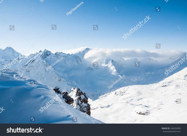 Winter Mountains Ski Resort Elbrus Caucasus Stock 244324903 - Shutterstock